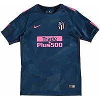 Nike Atlético de Madrid Camiseta, Niños, Verde / Rosa, 12-13 Años