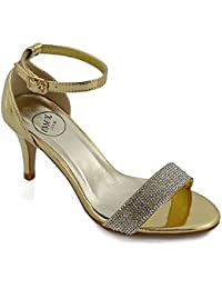 Essex GLAMFringe Detail Pumps - Ballet Mujer, Color Beige, Talla 35.5
