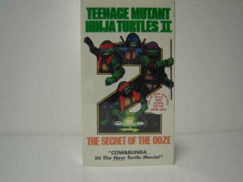 Preisvergleich Produktbild Teenage Mutant Ninja Turtles II: The Secret of the Ooze [VHS]