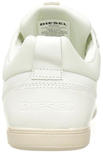 """Diesel Herren """"Happy Hours S-Tage-Sneaker Hohe Weiß (H6206 Ice)"""
