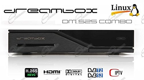 Dreambox DM525 HD Combo 1 x DVB-S2 y 1 x DVB-C/T2 sintonizador PVR Ready...