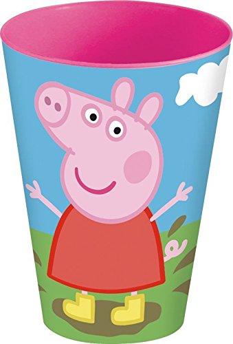 Peppa Pig- Vaso apilable PP 430ml (STOR 52806)
