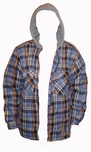 Boston -  Camicia Casual  - Uomo Blue Check
