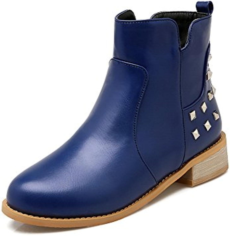 AdeeSu Stivali Stivali Stivali Donna Blu (blu), 37.5 EU, SXC00008 | Fashionable  5c0da0