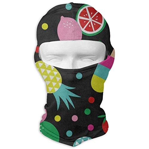 Hoklcvd Balaclava Tropical Summer Palm Tree Flower Full Face Masks Ski Sports Cap Motorcycle Neck Hood Unisex3