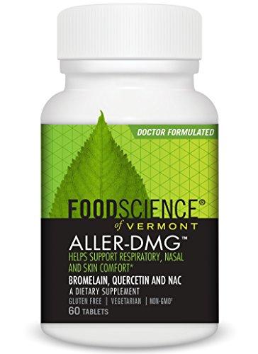 chaft von Vermont Aller DMG, 60vegetarische Tabletten (Food Science Of Vermont)