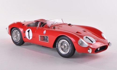 Maserati 300 S, No.1, J.Bonnier/ F.Godia-Sales, 24h Frankreich , 1958, Modellauto, Fertigmodell,...