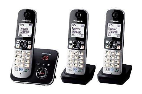Panasonic KX-TG6823EB Trio DECT Cordless Telephone Set with Answer