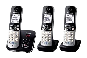 Panasonic KX-TG6823EB Trio DECT Cordless Telephone Set with Answer Machine