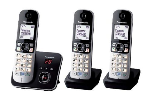 panasonic-kx-tg6823eb-trio-dect-cordless-telephone-set-with-answer-machine