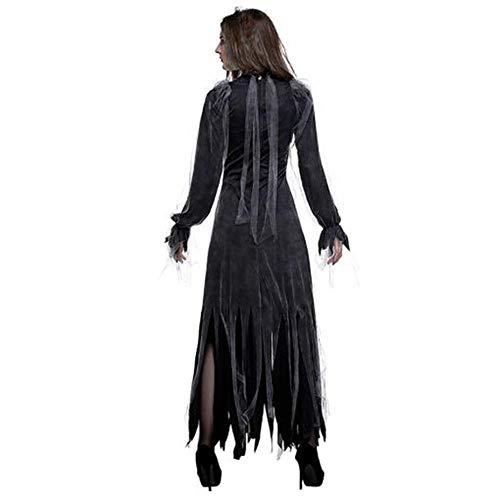 ZYH994 Halloween Kleid Für Frauen Horror Phantasie
