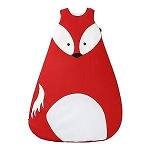 Saco de dormir de algodón cálido para el invierno, bebé niño bebé niño niña, pijama para niños de 0 a 36 meses Panda-m Talla:85cm