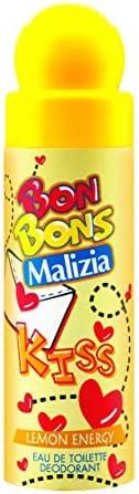 Malizia Bonbons Lemon Energy Eau De Toilette Deodorant - perfume for men, 75 ml