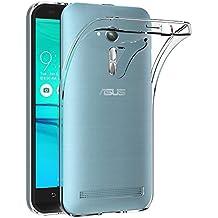 Funda ASUS Zenfone Go ZB500KL, AICEK Transparente Silicona Fundas para Zenfone Go ZB500KL Carcasa (5,0 Pulgadas) Silicona Funda Case