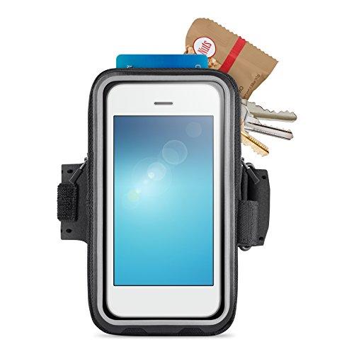Belkin Storage Plus Armband (geeignet für Smartphones bis 5 Zoll, iPhone 6, iPhone 6s) schwarz - Belkin Armband
