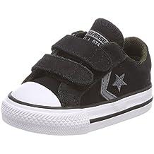 Converse Star Player Ev 2v OX White/Black, Zapatillas Unisex Niños