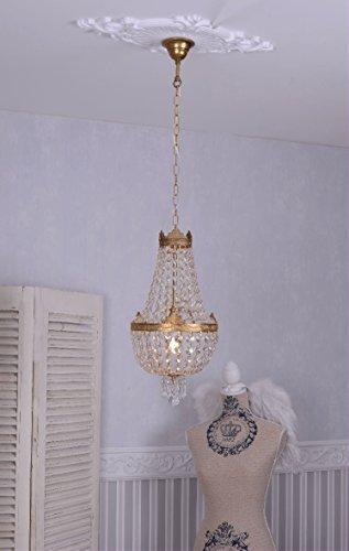Kronleuchter, Kristallleuchter, Korblüster, Lüster, Leuchter, Lampe für die Wohnung im angesagten...