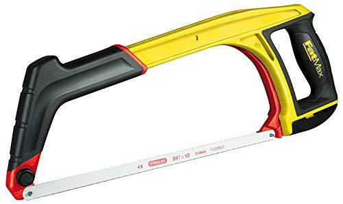 Stanley FatMax 5-in-1 Multifunktionssäge 430mm 0-20-108 - Bügelsäge für Metall, Handsäge & Kurzsäge mit 45° Anschlag - Einfacher werkzeugloser Sägeblattwechsel