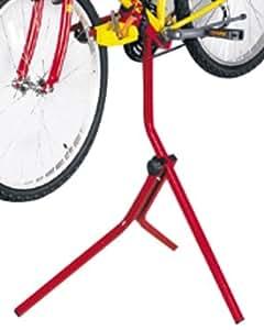 Mottez Support pied atelier 1 vélo Rouge