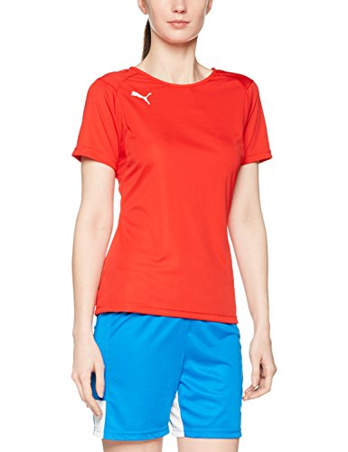 PUMA Damen Liga Training Jersey W Red White, L -