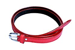 Contra Belt D Buckle Red