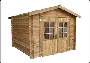Abri de jardin bois Autoclave 288 x 288