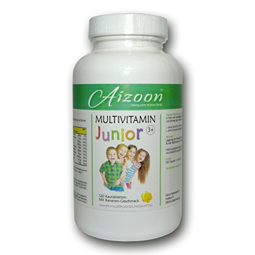 240 Kautabletten Vitamin Junior Multivitamin Tabletten BANANE Kinder Vitamine A B C D