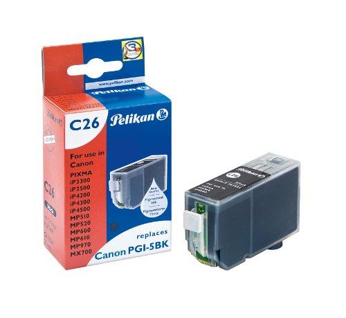 Pelikan Druckerpatrone C26 ersetzt Canon PGI-5BK, Schwarz (pigment)