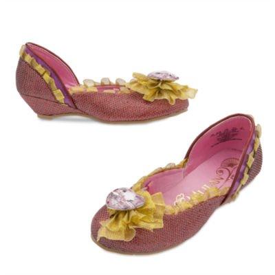 Mulan Kostüm Schuhe für Kinder Größe 32-33 (Disney Chip Und Dale Kostüm)