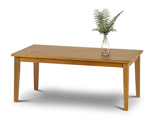 Julian Bowen Cleo Table Basse, en Bois, chêne Clair