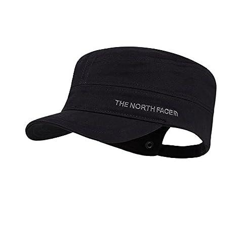 The North Face Logo Military Cap - Beige/Dune Beige/Dune Beige/TNF Black, Large/X-Large