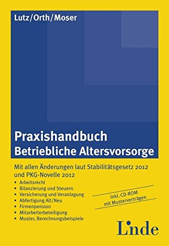 Handbuch Betriebliche Altersvorsorge (f. Österreich), m. CD-ROM