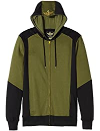 Zelda: Triforce Logo Mens Zip-Up Hoodie Top - Size Large (Electronic Games)