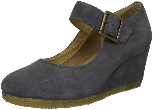Clarks Yarra Kiss 203510443 - Zapatos casual de ante para mujer