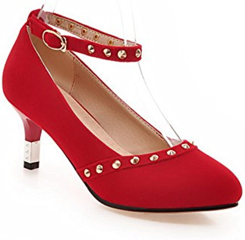 Inconnu 1To9 Escarpins Pour Femme EU, Rouge Red, 41.5 EU, Femme MMS01616B01KWKGN8UParent b2ad5f