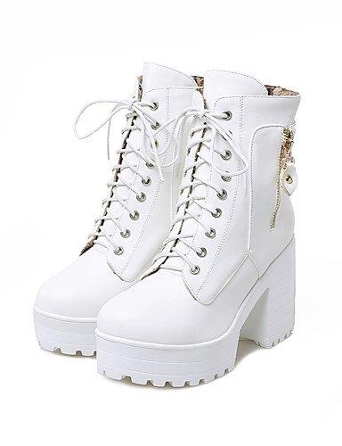 ShangYi Mode Frauen Schuhe Damenschuhe Stiefel Mode Plattform / Outdoor / Büro & Karriere / Casual Ferse Andere &8-11 Braun