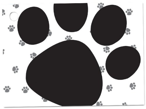 Pooch's Paws Theme Gift Cards3-3/4x2-3/4