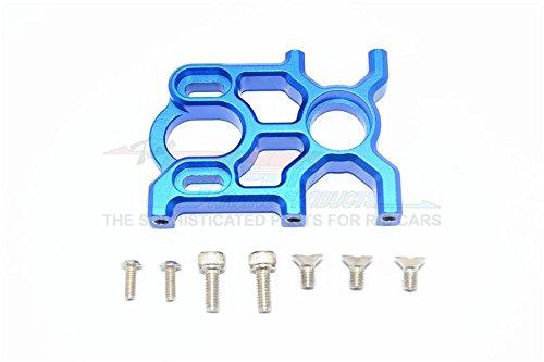 G.P.M. Arrma KRATON 6S BLX / Outcast 6S BLX Tuning Teile Aluminium Center Differential and Motor Mount - 1 Set Blue -