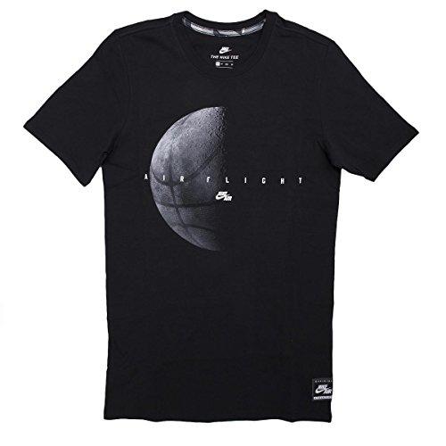 Nike Herren T-Shirt schwarz schwarz Schwarz
