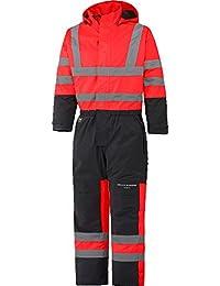 Helly Hansen 70665/_269-C44 Size C44 Alta Insulated Hi-Vis Suit Orange//Charcoal
