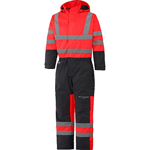 Helly Hansen Mens Alta Insulated Waterproof High-Vis Workwear Overall