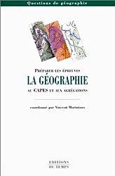 La géographie : au CAPES et aux agrégations