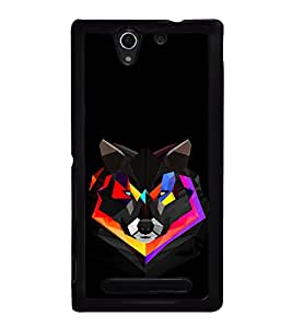 PrintVisa Animated Animal High Gloss Designer Back Case Cover for Sony Xperia C3 Dual :: Sony Xperia C3 Dual D2502