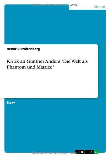 Kritik an Günther Anders