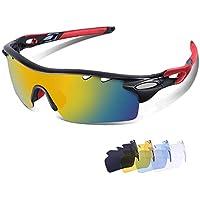 LATEC Gafas de Sol polarizadas, Gafas de Sol Deportivas para Unisex con 100% de