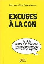 Petit Livre de - Excuses à la con de Susie JOUFFA