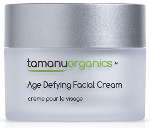 Tamanu Organics Anti-Aging Gesichtscreme | Bio Tamanu, Argan, Hyaluronsäure und Vitamin E Gesichtscreme | 100ml