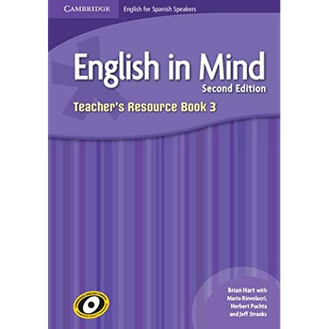 English in Mind for Spanish Speakers  3 Teacher's Resource Book with Class Audio CDs (4)