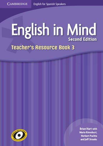English in Mind for Spanish Speakers  3 Teacher's Resource Book with Class Audio CDs (4) - 9788483237892