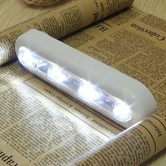 sans fil 4 - LED armoire pivotante poussoir robinet tactile bâton lumière de nuit